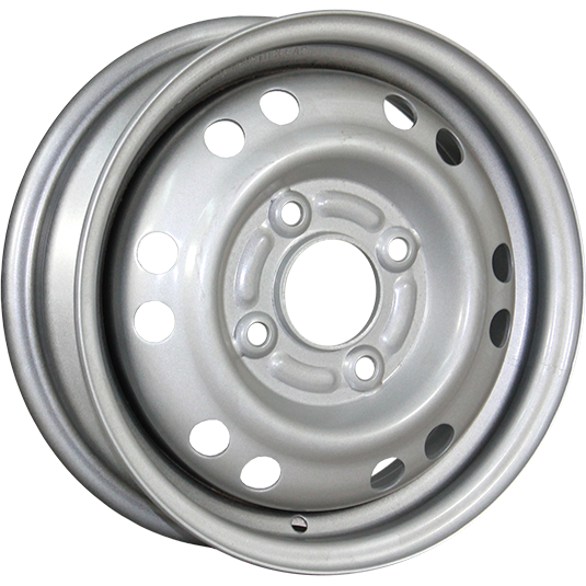 TREBL 42E45S 4.5x13/4x114.3 ET45 D69.1 Silver TREBL 9112642