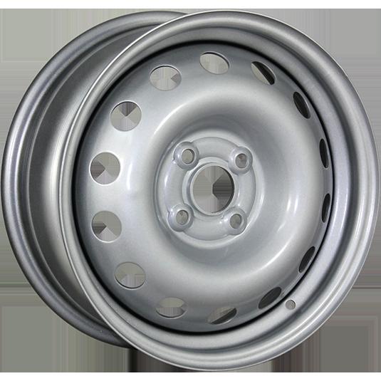 TREBL 52A49A 5.5x13/4x100 ET49 D56.6 Silver TREBL 9122322