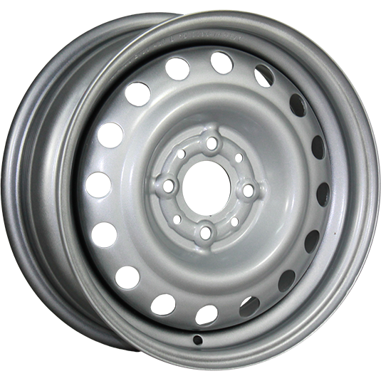 TREBL 53A38R 5.5x14/4x100 ET38 D54.1 Silver TREBL 9138201