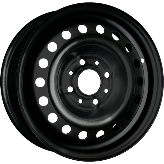 TREBL 53A43C 5.5x14/4x100 ET43 D60.1 Black TREBL 9284684