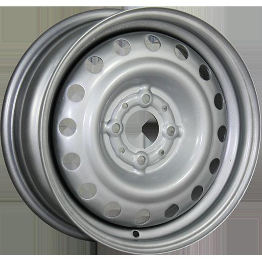 TREBL 53A43C 5.5x14/4x100 ET43 D60.1 Silver TREBL 9107467