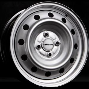 TREBL 6445T 6x15/4x100 ET39 D56.6 Silver TREBL 9112664