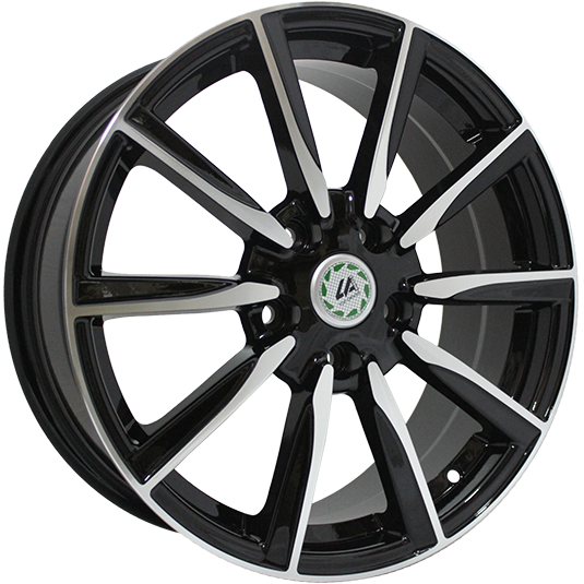 Top Driver TY16-S 7x17/5x114.3 ET39 D60.1 BKF REPLICA TD SPECIAL SERIES 9199851