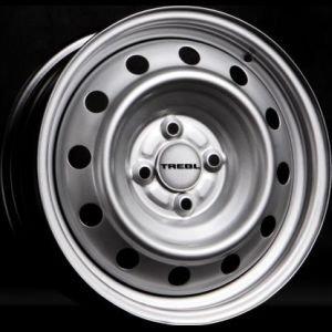 TREBL X40008 6.5x16/5x114.3 ET45 D66.1 Silver TREBL 9306044