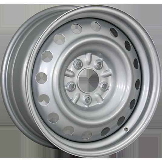 TREBL X40027 6.5x16/5x130 ET43 d84.1 Silver TREBL 9139485