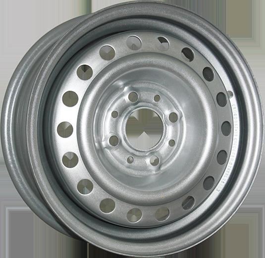 TREBL X40033 6x16/4x100 ET50 D60.1 Silver TREBL 9171087