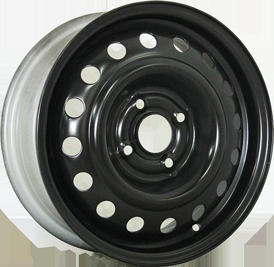 TREBL X40039 5.5x15/4x100 ET45 D54.1 Black TREBL 9177971