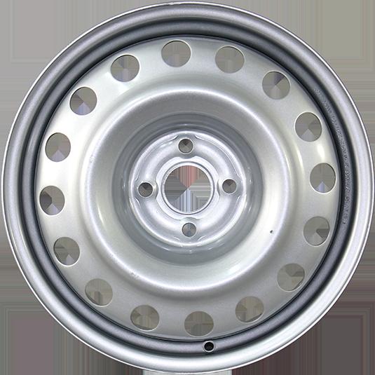 TREBL X40050 6.5x16/4x100 ET49 D60.1 Silver TREBL 9177982