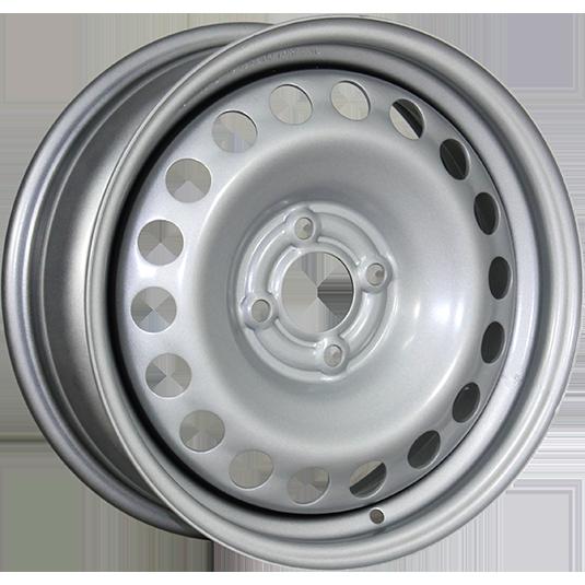 TREBL X40915 6x15/4x100 ET40 D60.1 Silver TREBL 9165523