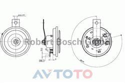 Сигнал звуковой Bosch 9320332009