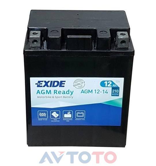 Аккумулятор Exide AGM1214