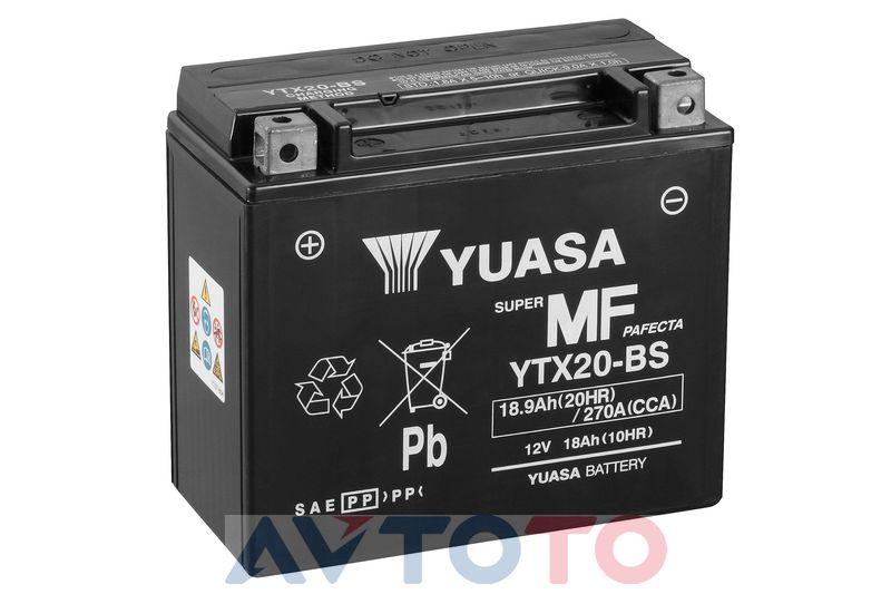 Аккумулятор Yuasa YTX20BS