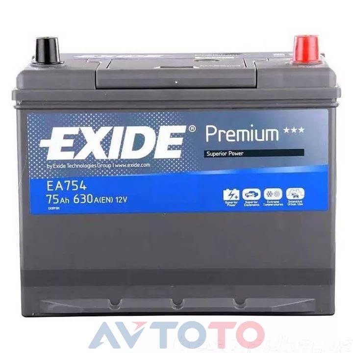 Аккумулятор Exide EA754