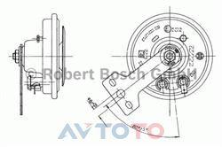 Сигнал звуковой Bosch 0320043030