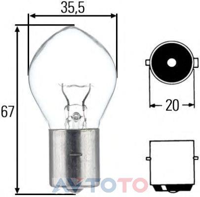 Лампа Hella 8GA002083131
