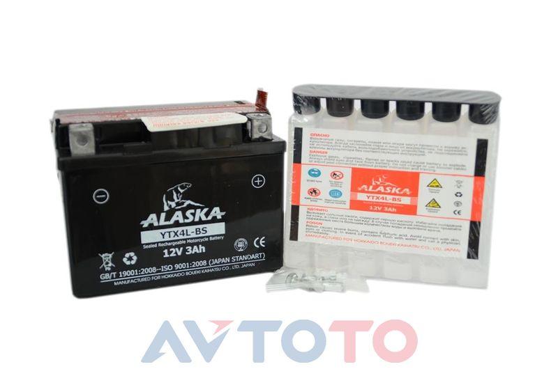 Аккумулятор Alaska YTX4LBS