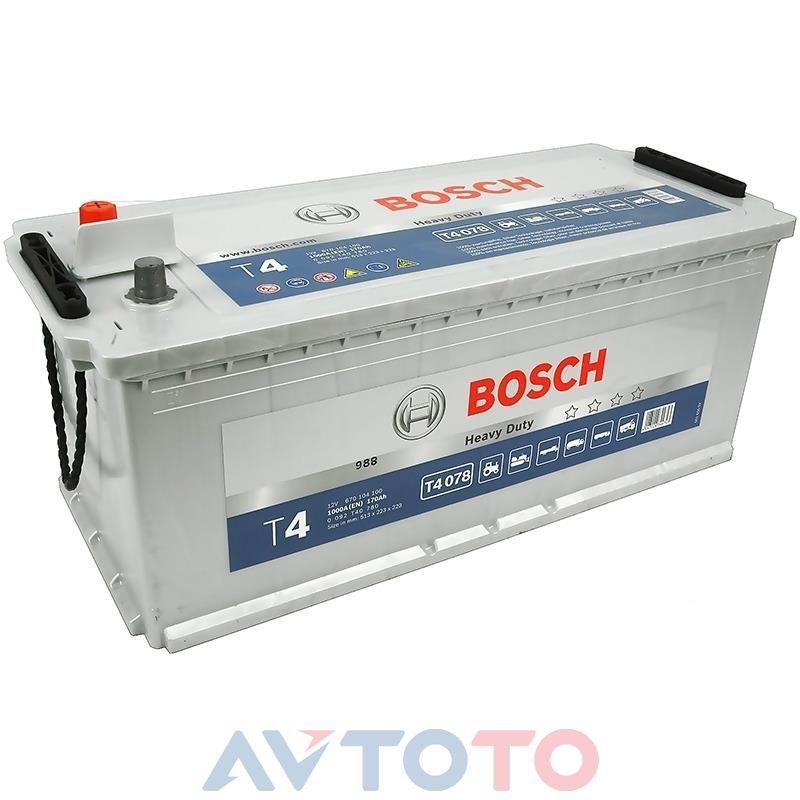 Аккумулятор Bosch 0092T40780
