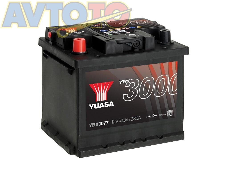 Аккумулятор Yuasa YBX3077