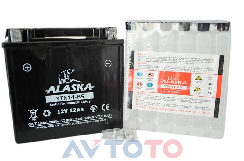Аккумулятор Alaska YTX14BS