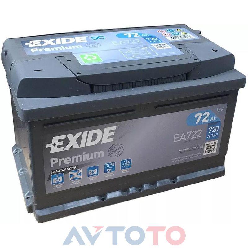 Аккумулятор Exide EA722