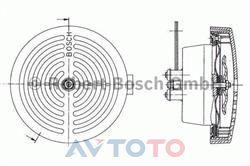 Сигнал звуковой Bosch 0320223024
