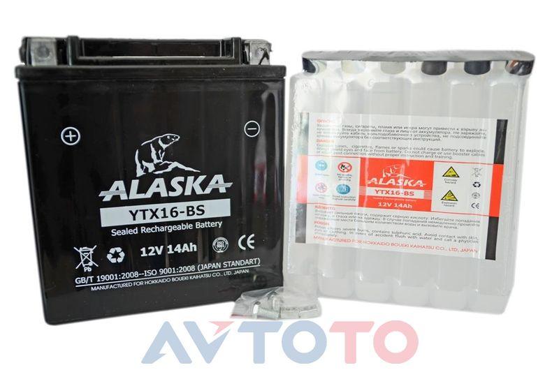 Аккумулятор Alaska YTX16BS