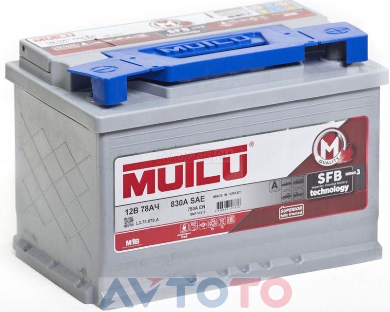 Аккумулятор Mutlu L378078B