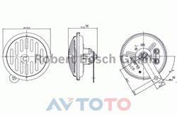 Сигнал звуковой Bosch 0320143903