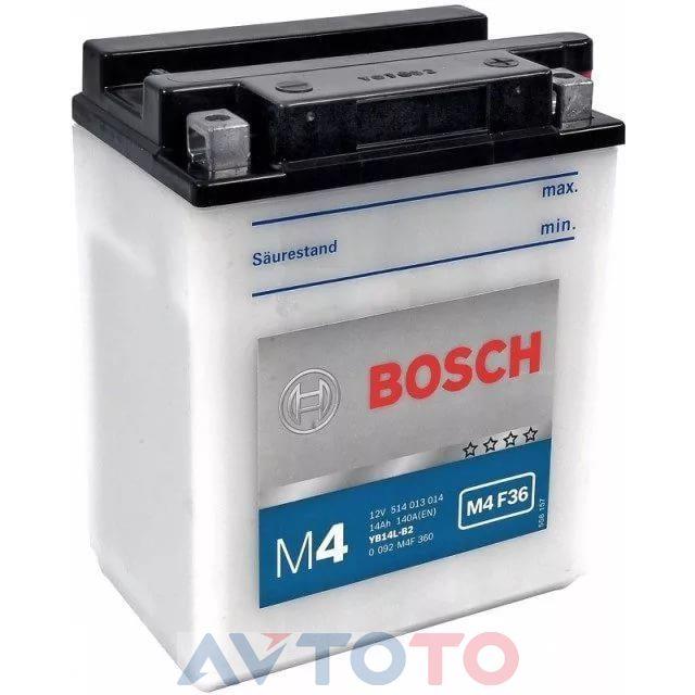 Аккумулятор Bosch 0092M4F360