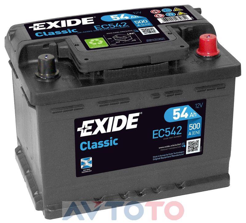 Аккумулятор Exide EC542
