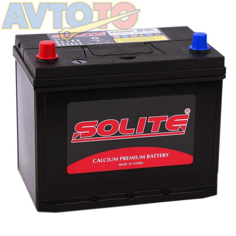 Аккумулятор Solite 95D26RBH