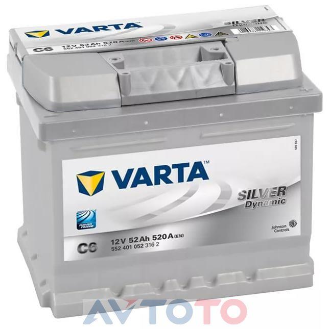 Аккумулятор Varta 552401052