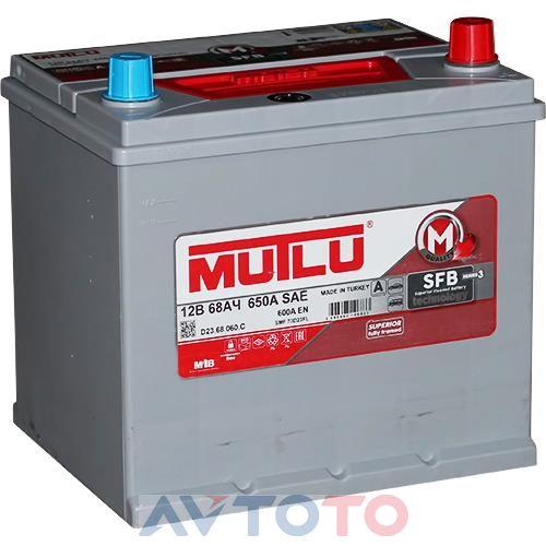 Аккумулятор Mutlu D2368060D