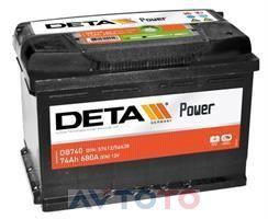 Аккумулятор Deta DB740