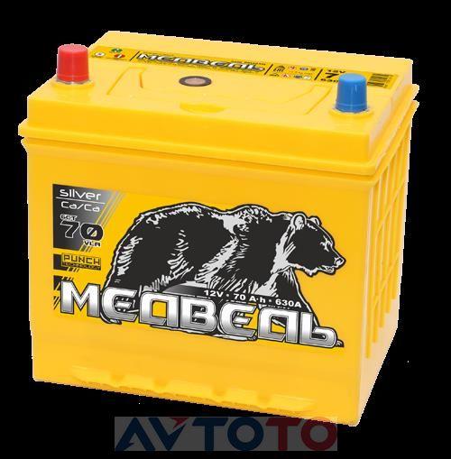 Аккумулятор Тюменский медведь SILVER 4607175654975