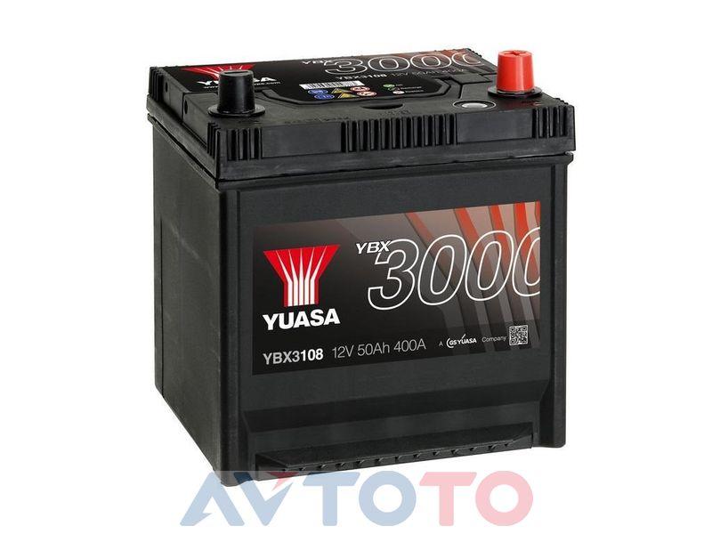 Аккумулятор Yuasa YBX3108