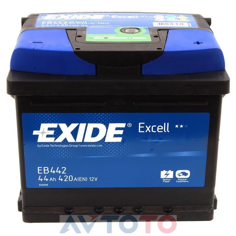 Аккумулятор Exide EB442