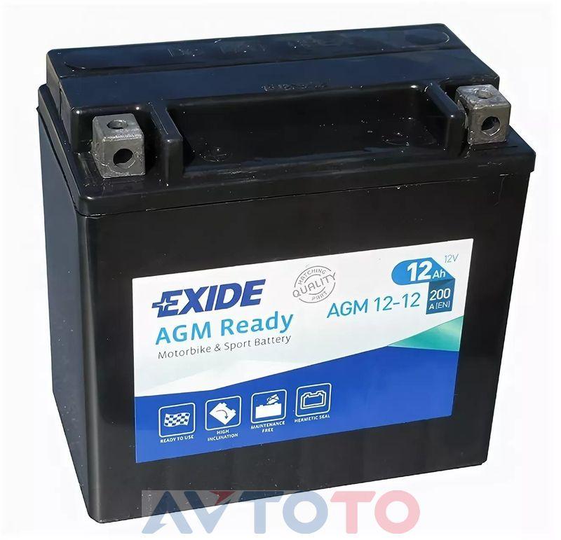 Аккумулятор Exide AGM1212