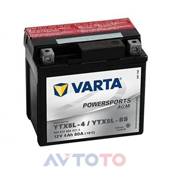 Аккумулятор Varta 504012003