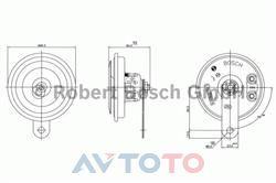 Сигнал звуковой Bosch 0320043144