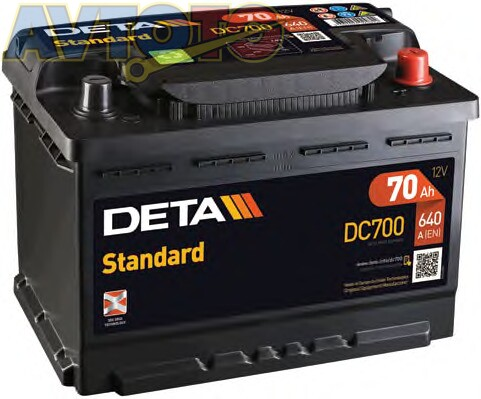 Аккумулятор Deta DC700