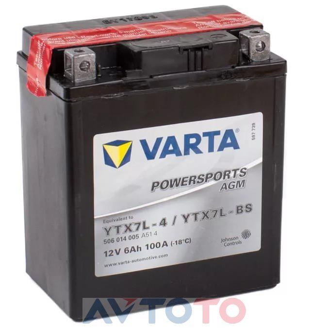 Аккумулятор Varta 506014005