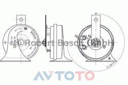 Сигнал звуковой Bosch 9320334204