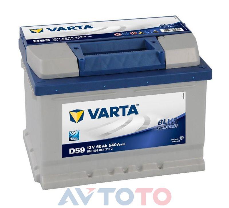 Аккумулятор Varta 5604090543132