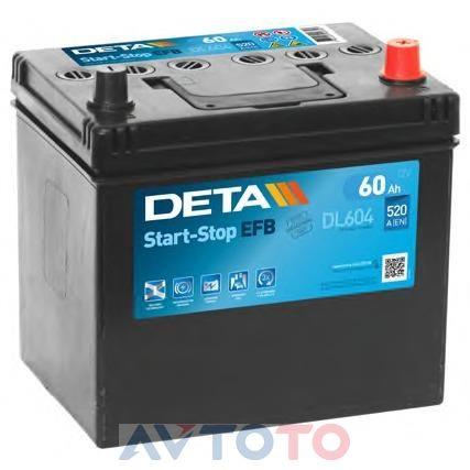 Аккумулятор Deta DL604