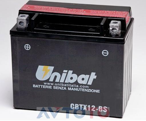 Аккумулятор UNIBAT BMCBTX12BSU