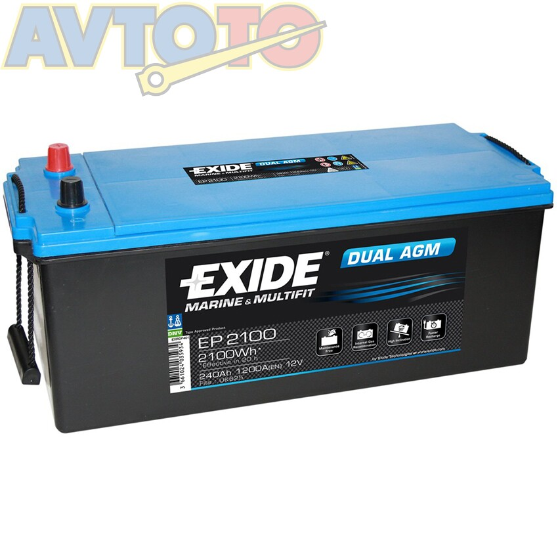 Аккумулятор Exide EP2100