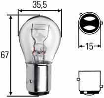 Лампа Hella 8GD004772151