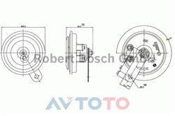 Сигнал звуковой Bosch 0320043032