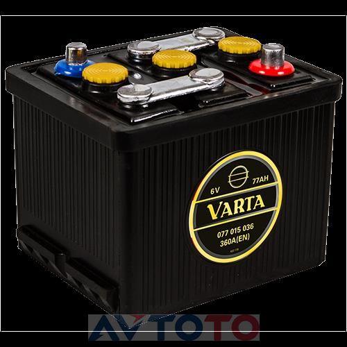 Аккумулятор Varta 077015036